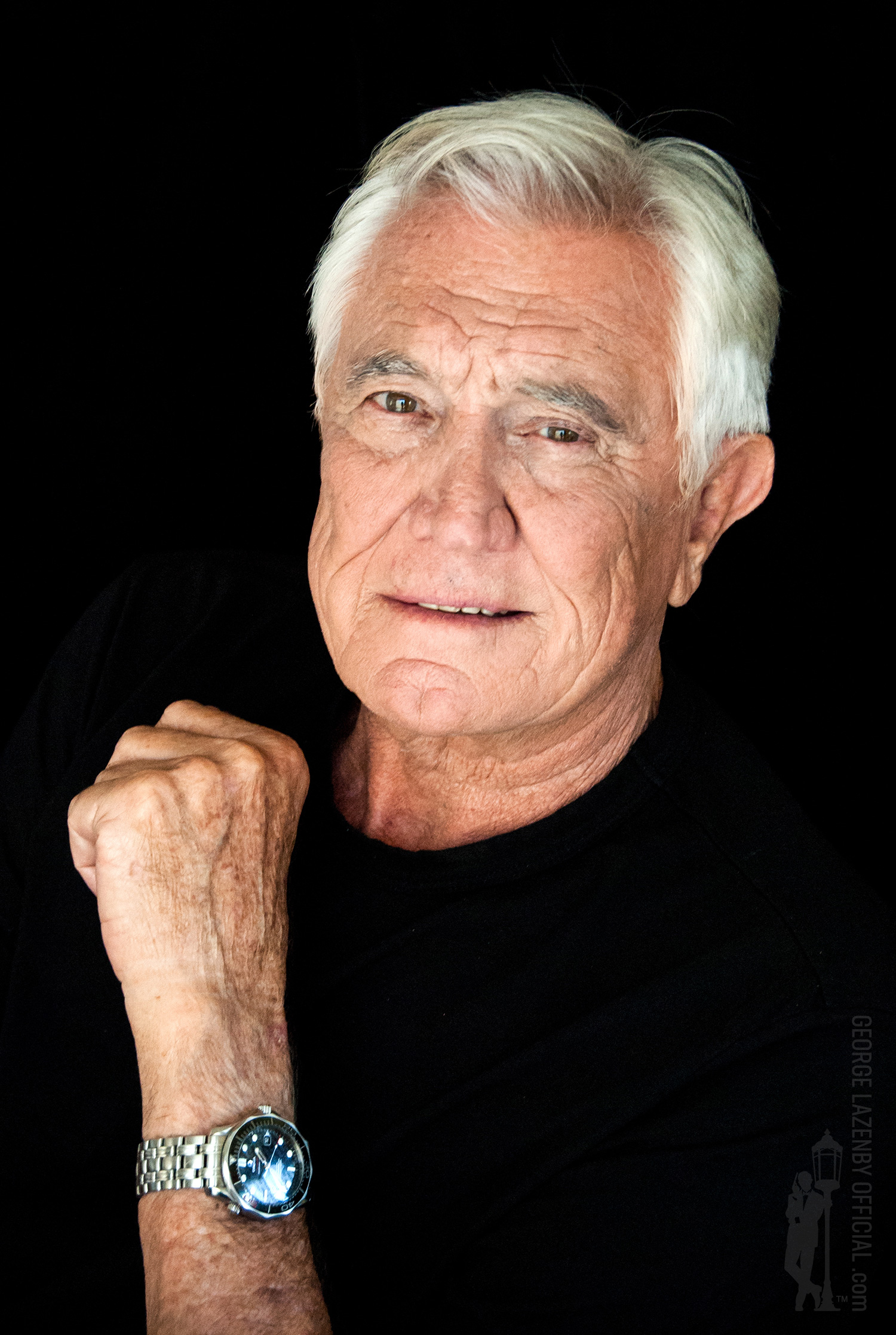 George Lazenby photo by Azabra