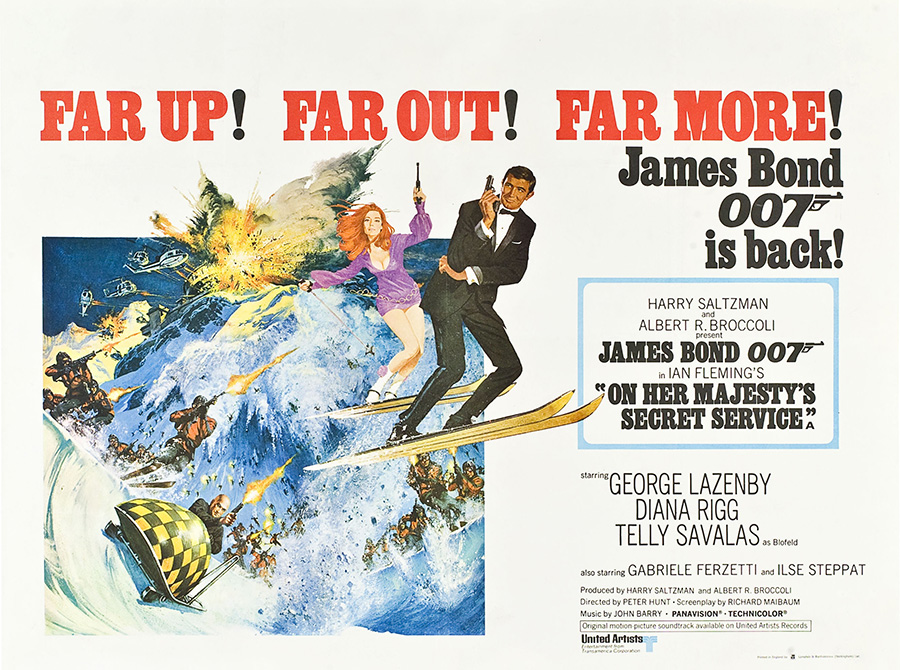 On Her Majesty's Secret Service George Lazenby