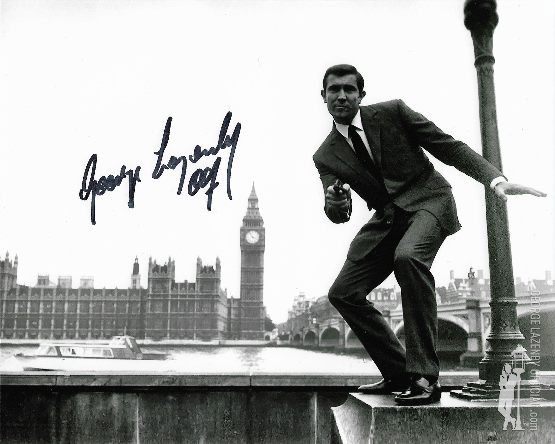 George Lazenby signed photo 07