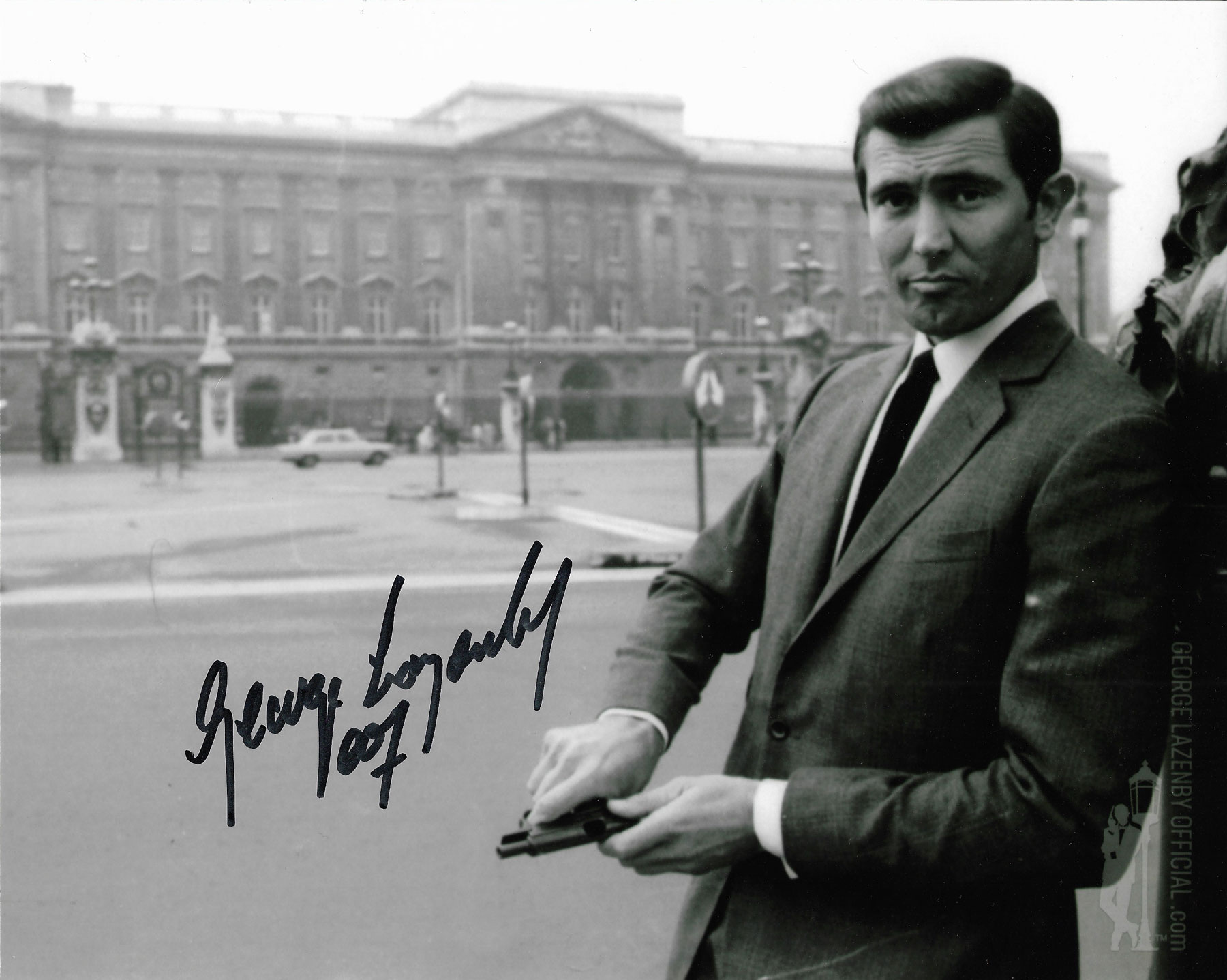 George Lazenby signed photo 08