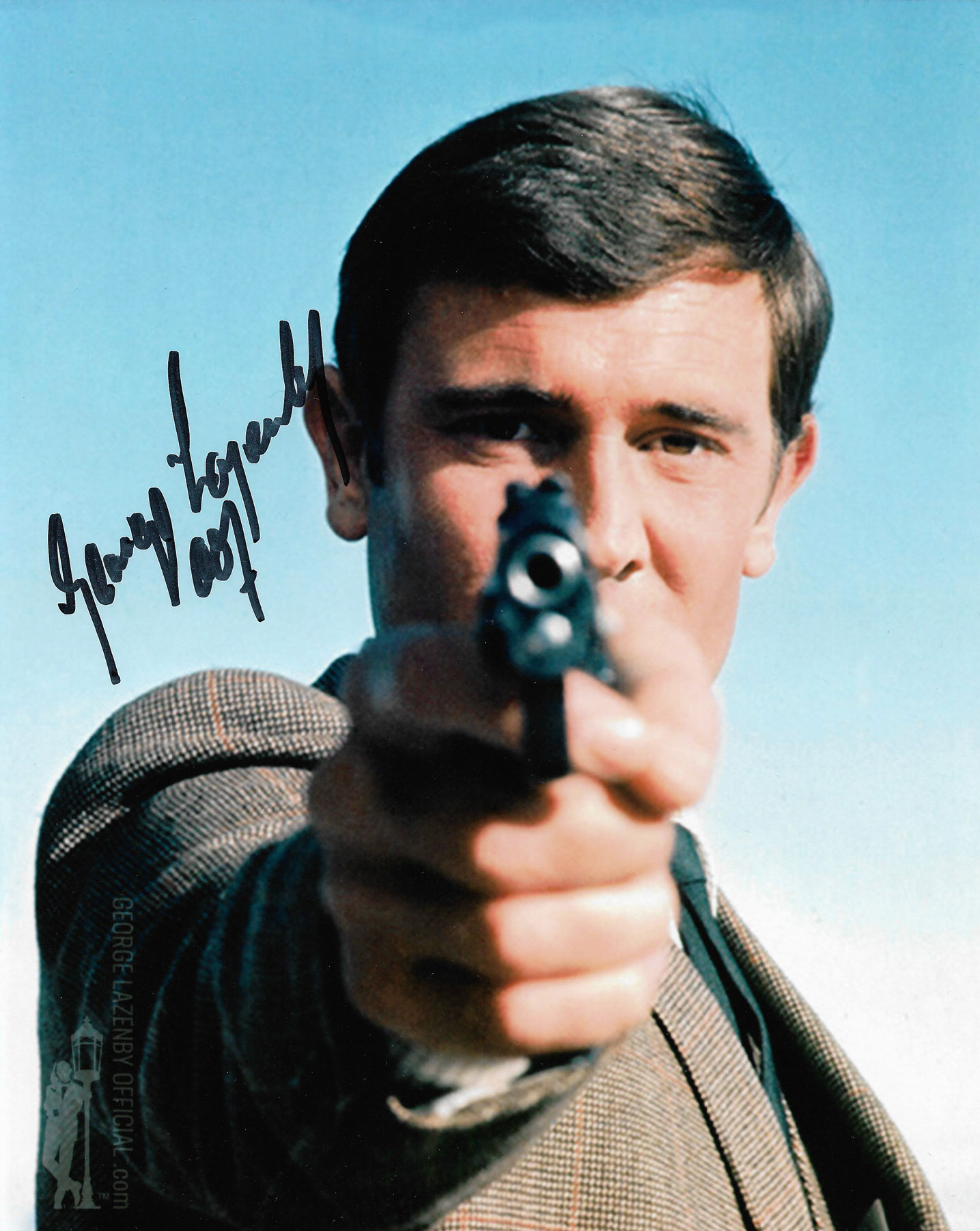 George Lazenby signed photo 09