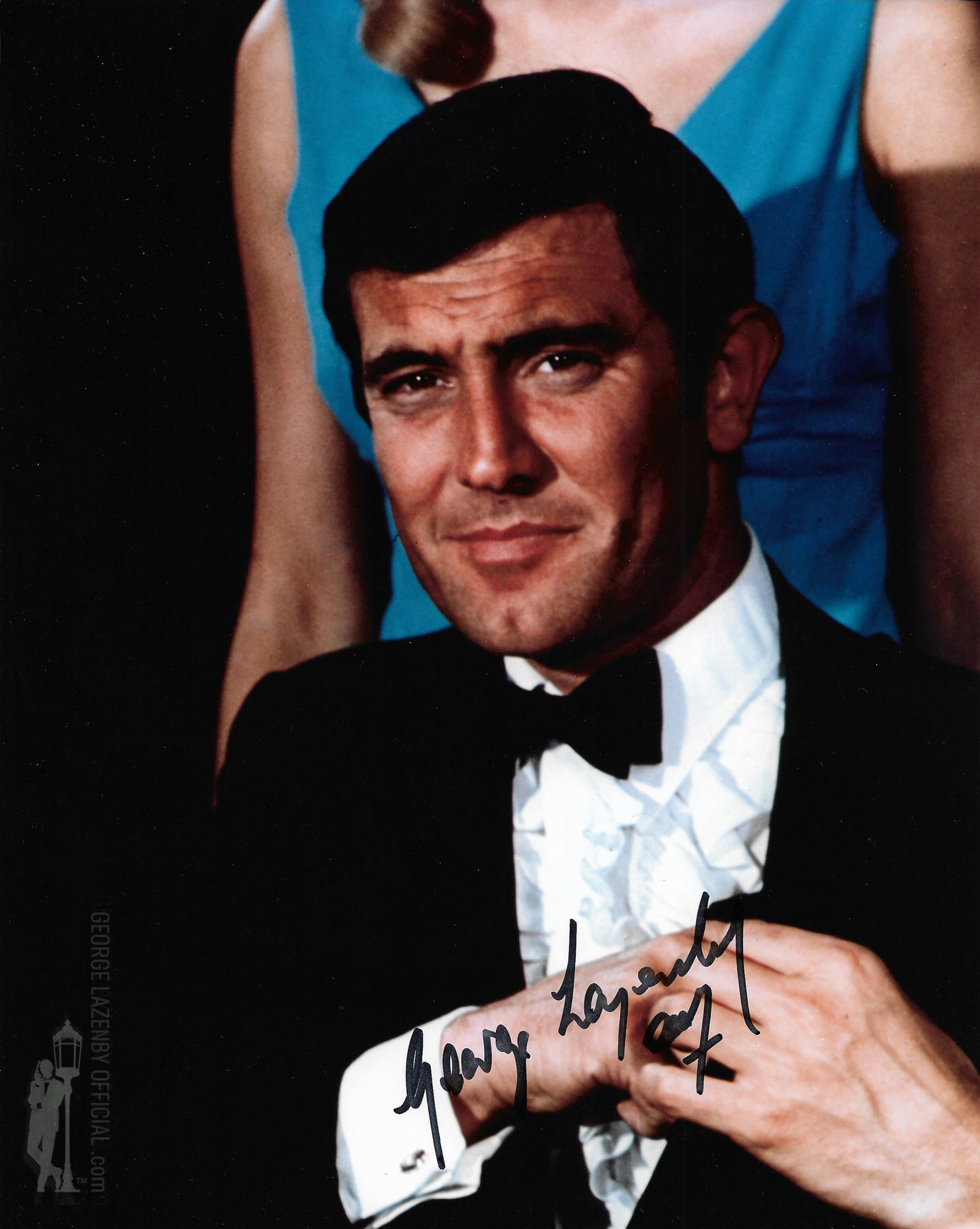 George Lazenby signed photo casino 1 08