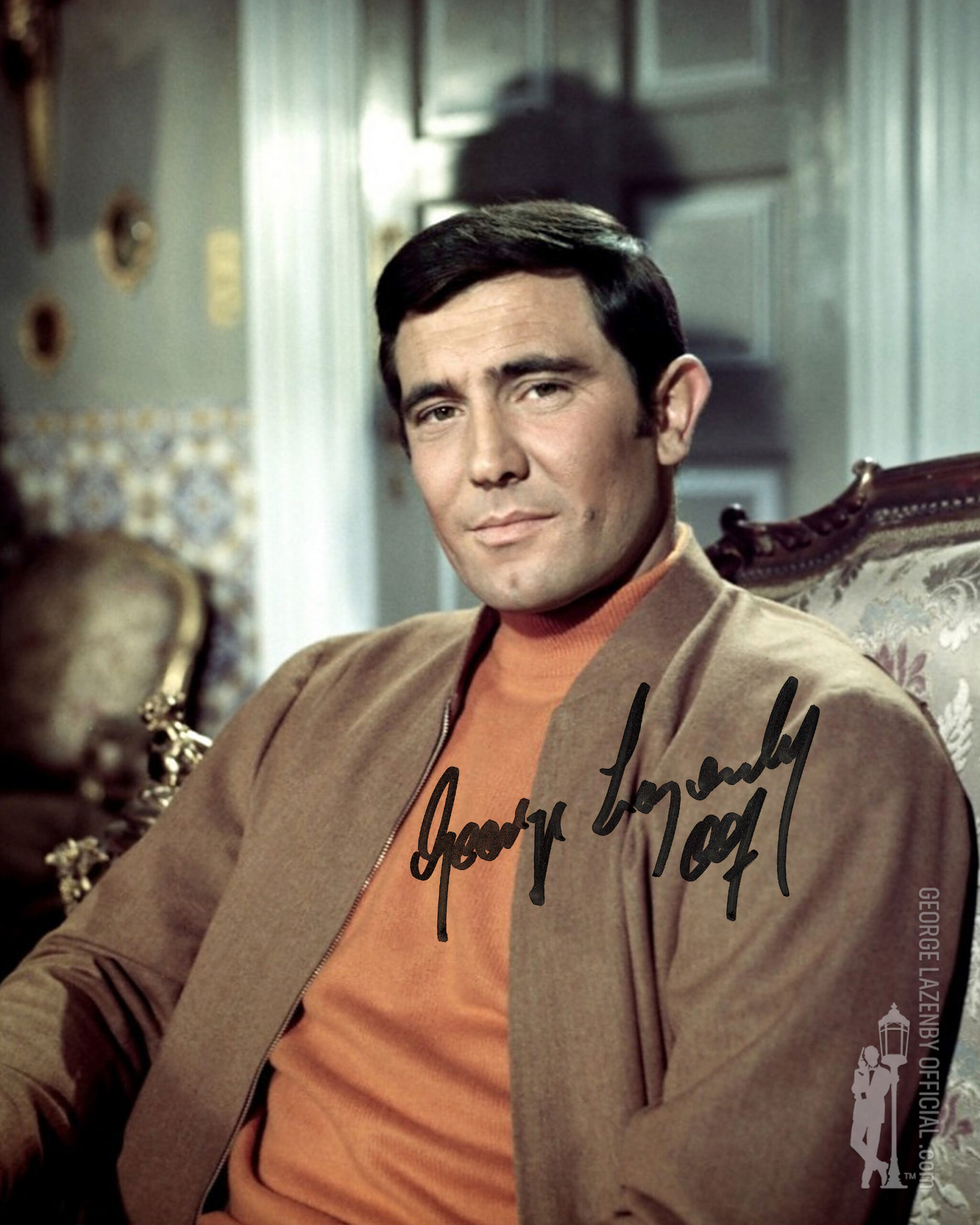 George Lazenby signed photo 13