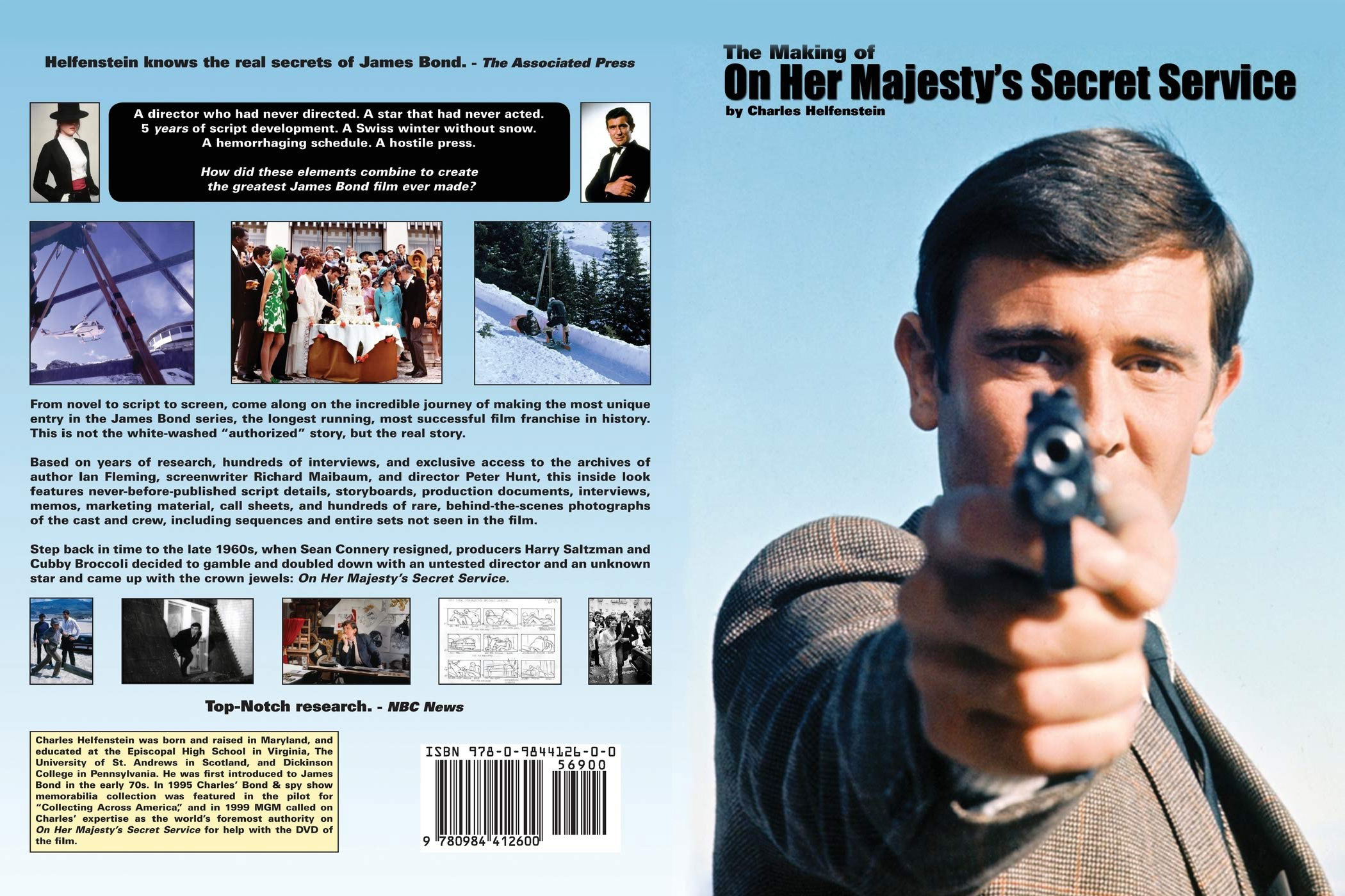 The making of On Her Majestys Secret Service Charles