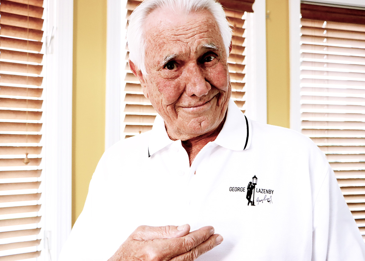 George Lazenby Merchandise polo shirt